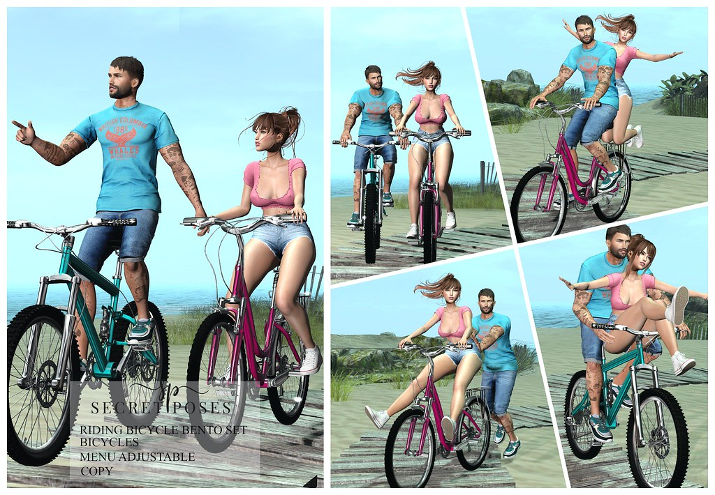Secret Poses – Riding Bicycle @ Spring Flair