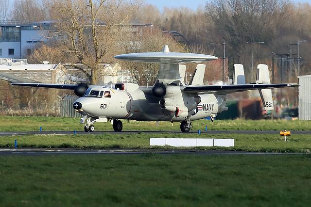 United States Navy Grumman E-2C Hawkeye 2000, 165812/601.