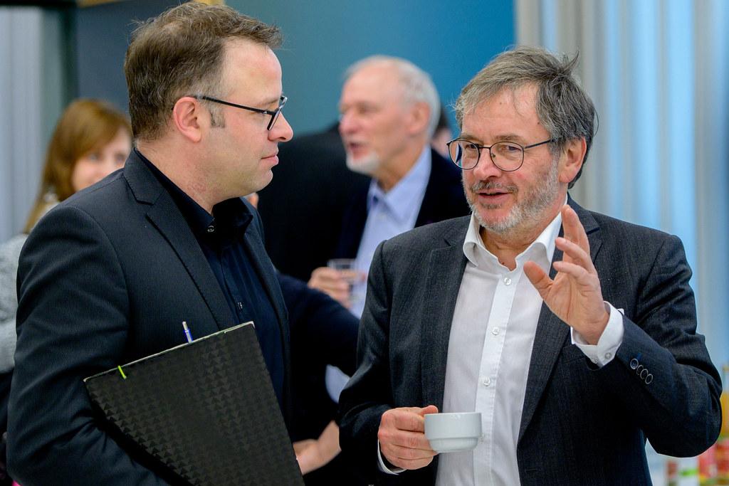 Philipp Antony und Eckart Severing