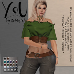 YoU by GeMyles Katiali @ April Designer Showcase