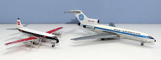 Pan Am Boeing 727-21 vs BEA Viscount 700