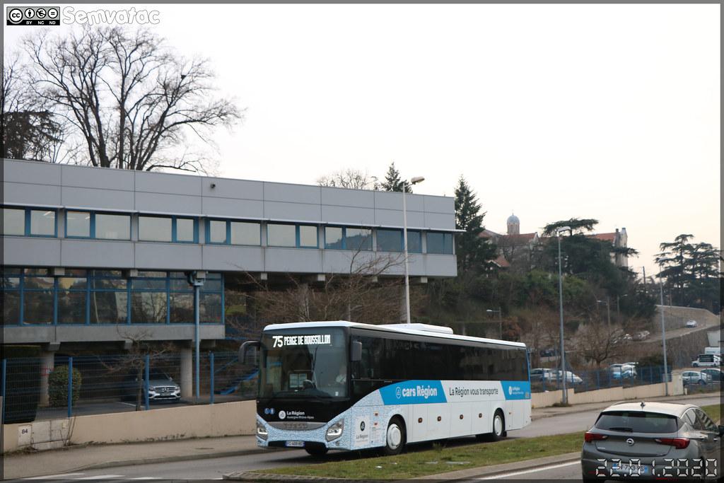 Iveco Bus Evadys – Sradda (Sud Rhône-Alpes Déplacements Drôme-Ardèche) / Auvergne-Rhône-Alpes / Cars Région n°436