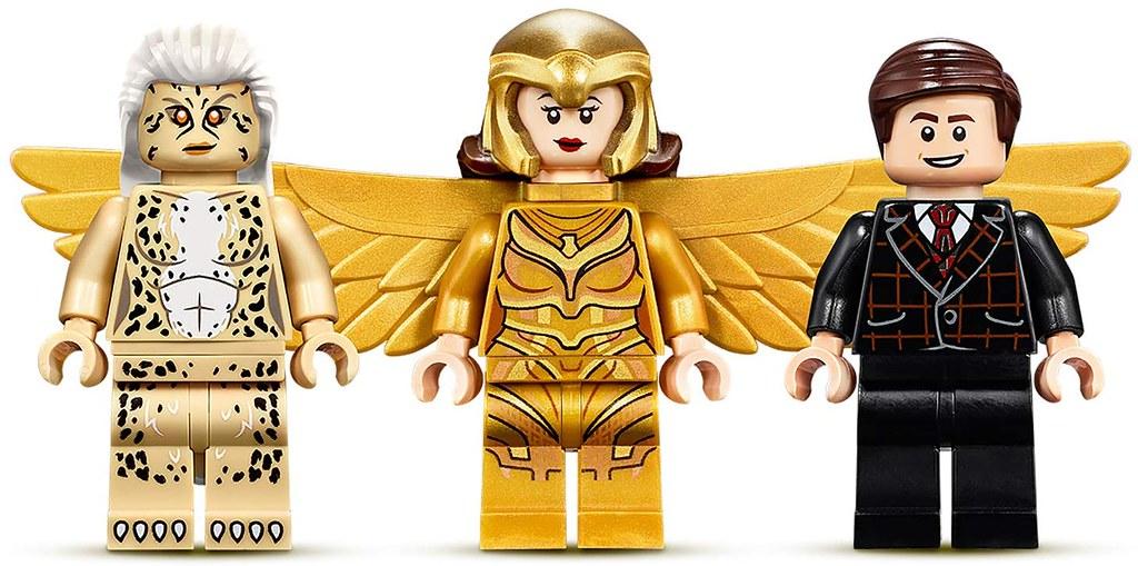 身穿「金鷹裝甲」的黛安娜樂高人偶登場! LEGO 76157《神力女超人1984》神力女超人 vs. 豹女 (Wonder Woman vs. Cheetah) 情報公開