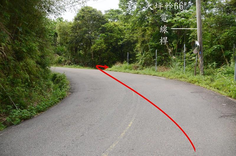 石樁臼(三百六坑山)登山口