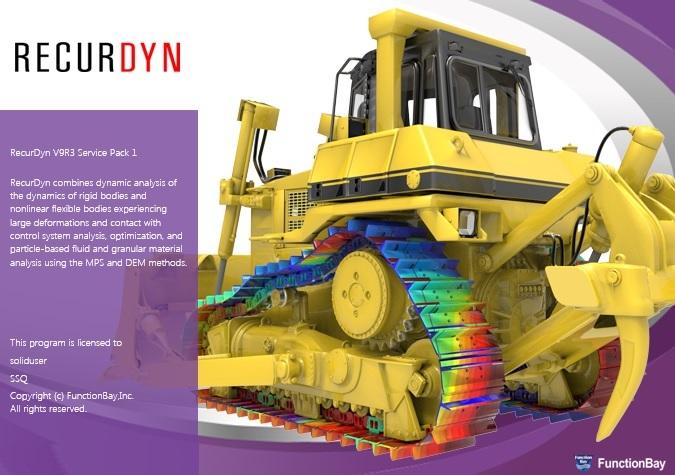 FunctionBay RecurDyn V9R3 SP1 x64 full license