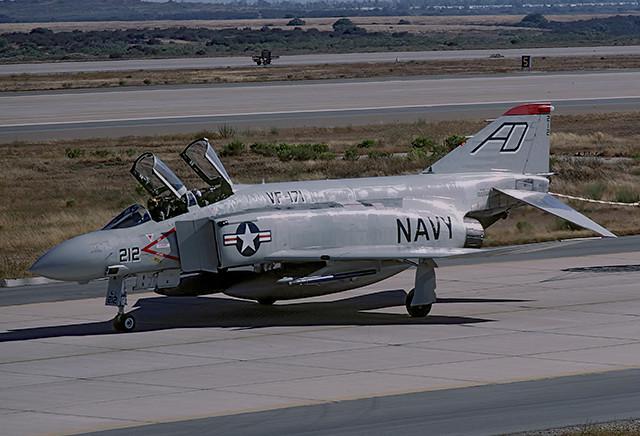 F-4J Phantom 155558 of VF-171 AD-212