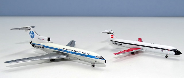 Pan Am Boeing 727-21 vs BEA One-Eleven 500