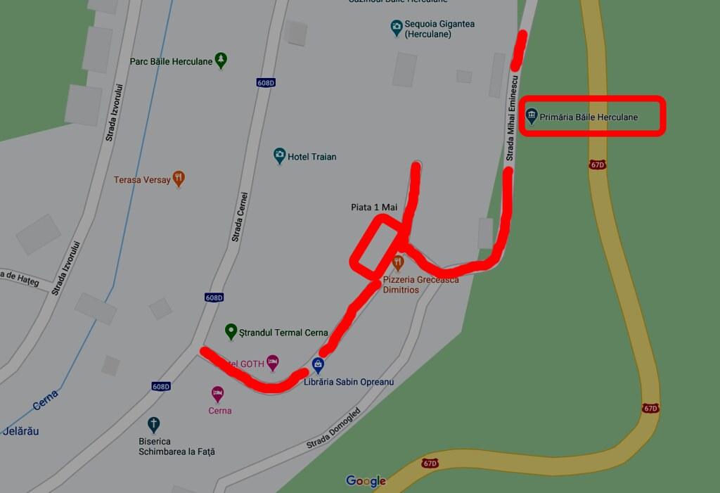 harta proiect