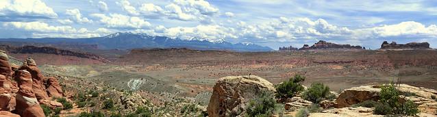 Arches Nationalpark, Utah - Panorama
