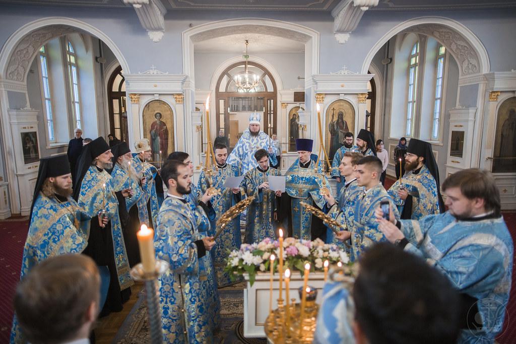 6-7 апреля 2020, Благовещение Пресвятой Богородицы / 6-7 April 2020, The Annunciation of the Theotokos
