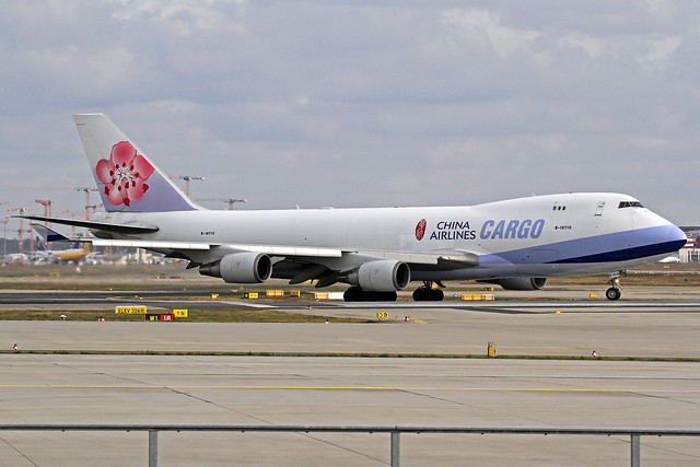 China Airlines Cargo Boeing 747-409F B-18710 FRA 28-02-20