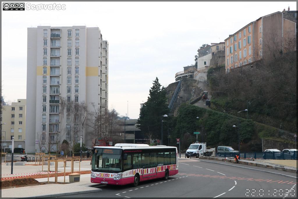 Irisbus Citélis 12 – STADE (Société des Transports d'Annonay, Davézieux et Extensions) (Transdev) / Babus n°7693