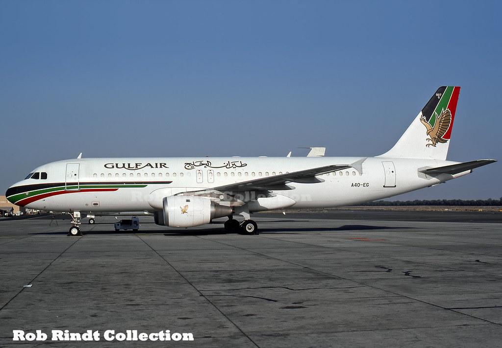 Gulf Air A320-212 A4O-EJ
