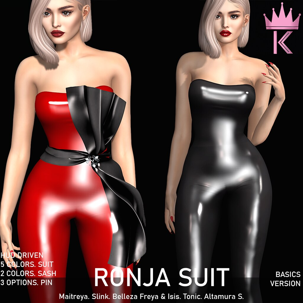 .KIMBRA. – RONJA LATEX SUIT [BASICS]