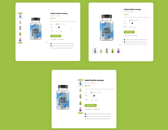 9.Multiple Product Detail Page-Anti Covid Free Prestashop Medical Template