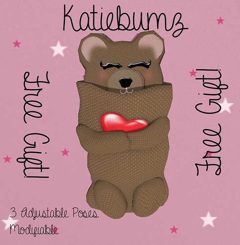 Teddy Bear Sleeping Bag ~ Free in the group AND at the Store!