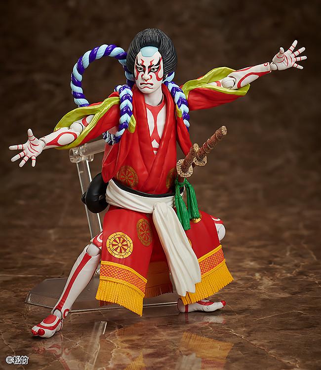 日本傳統藝能「歌舞伎」在 figma 系列登場!《義經千本櫻》狐忠信(源九郎狐)