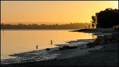 swanriver sunrise perth