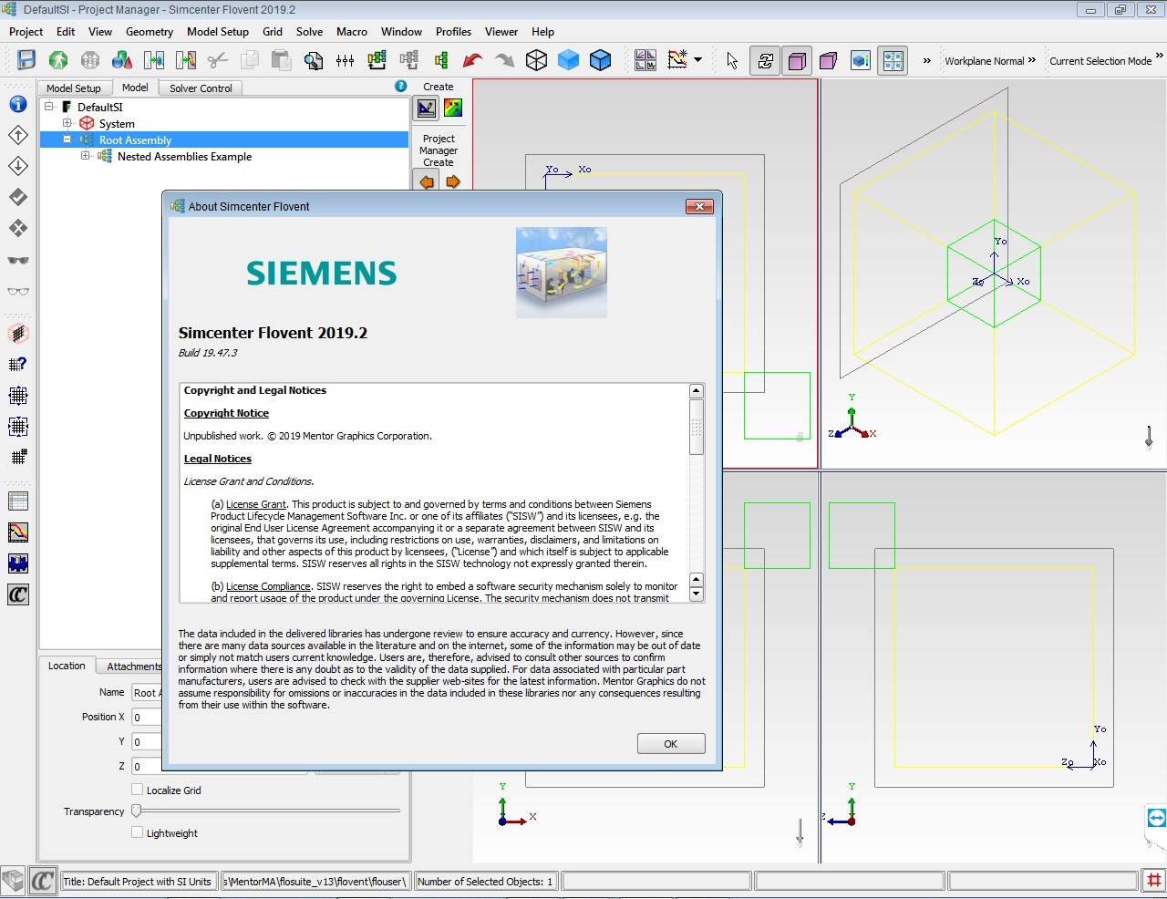 Working with Siemens Simcenter FloVENT 2019.2 full license