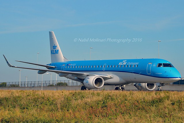 KLM Cityhopper PH-EZF Embraer ERJ-190STD (ERJ-190-100) cn/19000304