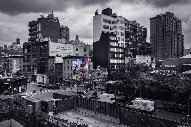 View from the High Line - New York City - USA