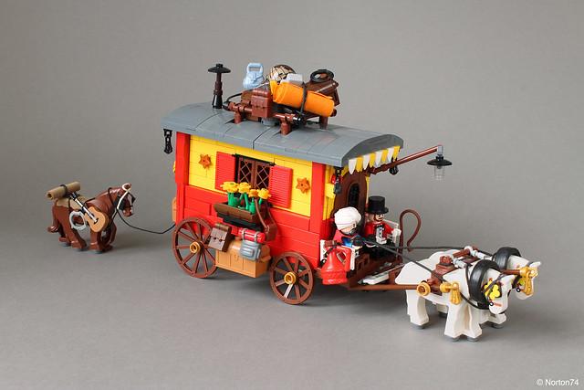 Horse drawn Gypsy Caravan (No. 1)