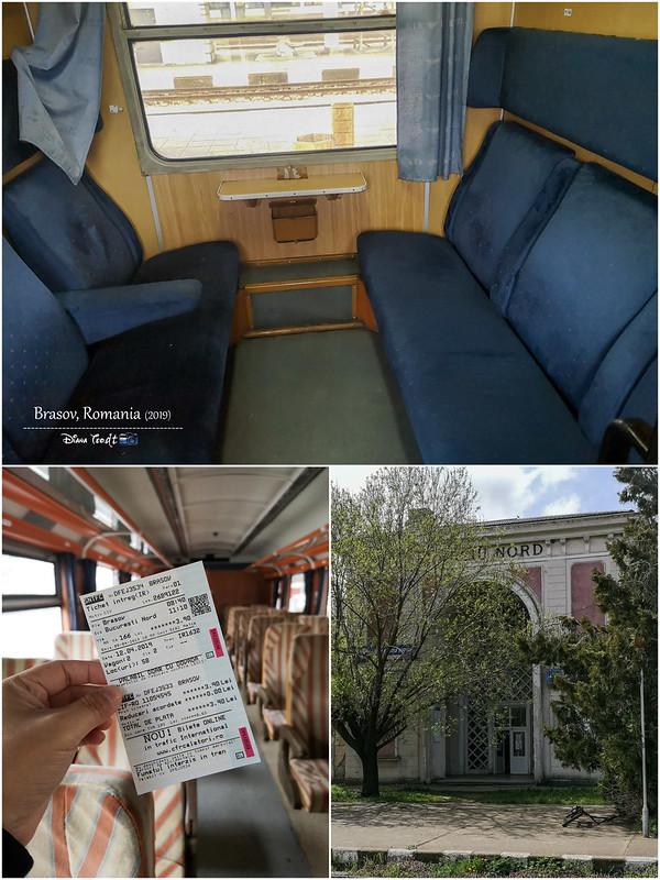 2019 Europe Train from Brasov to Veliko Tarnovo