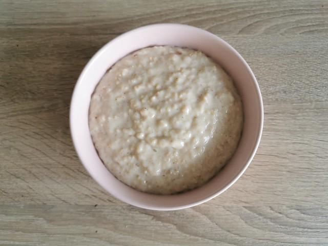 3. Porridge is ready