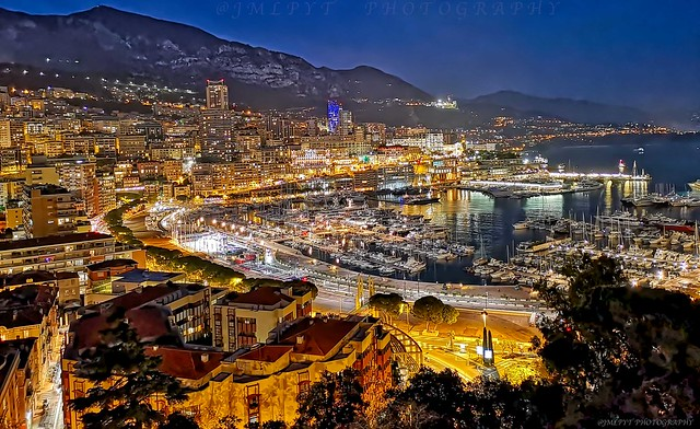 MONACO BY NIGHT- Côte d'Azur France -IMG_20190117_180640