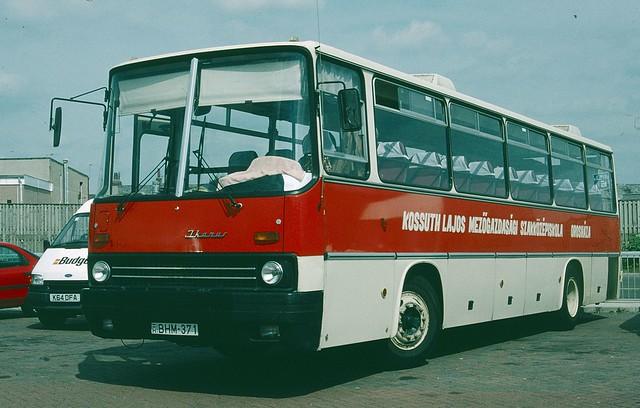 BHM-371 Hungarian Ikarus Coach - Blackpool, UK