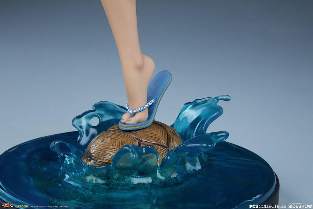 擁有最強蜜大腿的女格鬥家火辣再登場! Pop Culture Shock《快打旋風V》春麗 Chun-Li: Season Pass 1/4 比例全身雕像 普通版/EX版