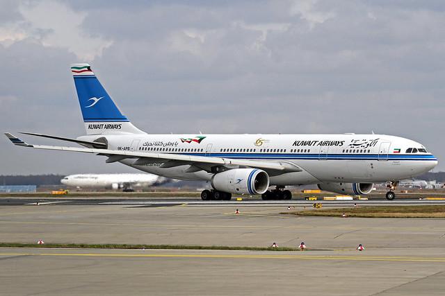 Kuwait Airways Airbus A330-243 9K-APB Al Sanbook FRA 28-02-20