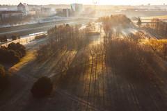 Shadows | Kaunas aerial