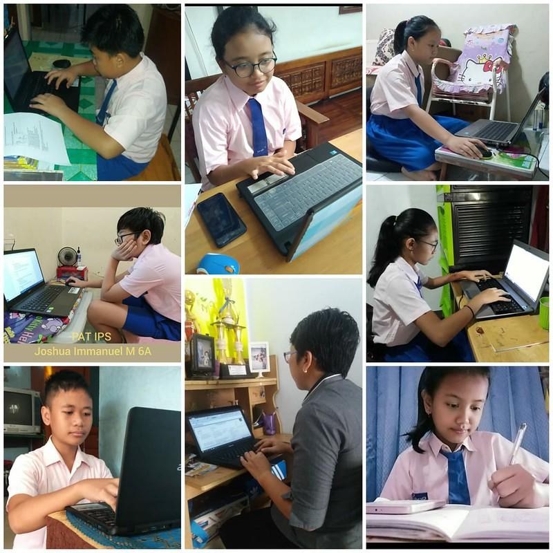 Penilaian Akhir Tahun Kelas 6 Secara Online – Hari ke 2