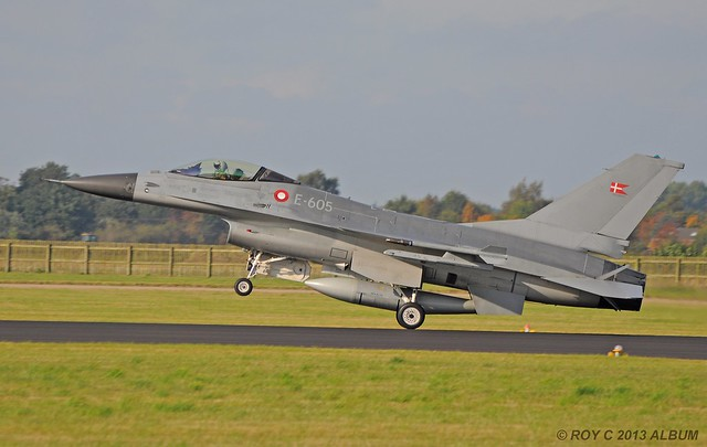 E-605 F-16A DANISH AIR FORCE
