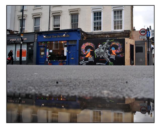 LONDON STREET ART by SAM KETTERIDGE & STEVE MCCRAKEN