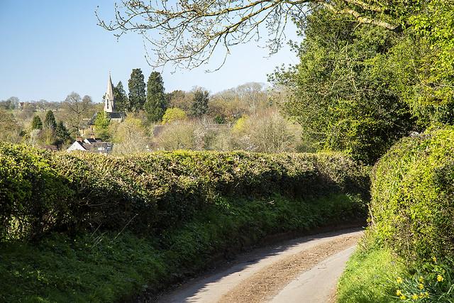 Approaching Ullenhall, Warwickshire