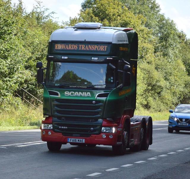 Edwards Transport FA16 MAE At Oswestry