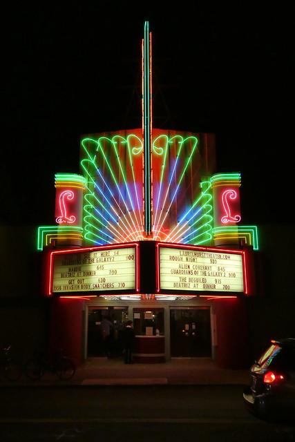 Laurelhurst Theater cinema, Portland