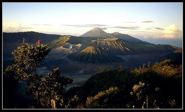 Volcans Batok, Bromo, Semeru