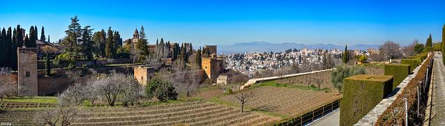 ... Alhambra and Granada ...