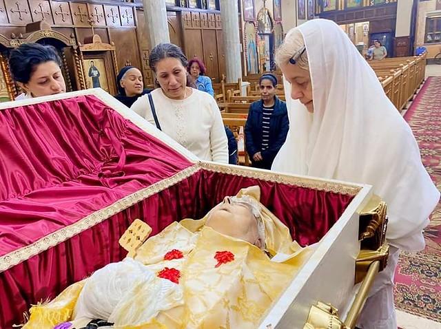 الأم أمال الكاتدرائية  - تصوير الأستاذ مينا فؤاد