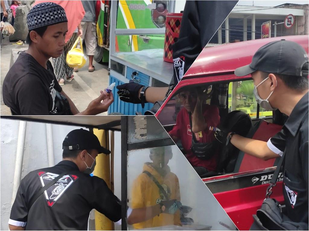 YRFI Cianjur Berbagi Masker & Hand Sanitizer 2