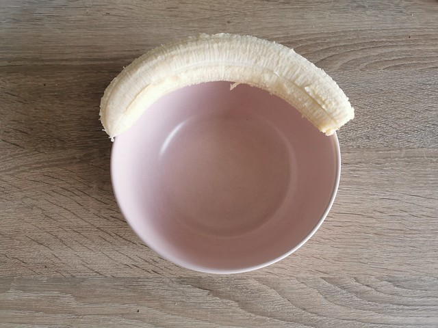 1. Banana is waiting for porridge