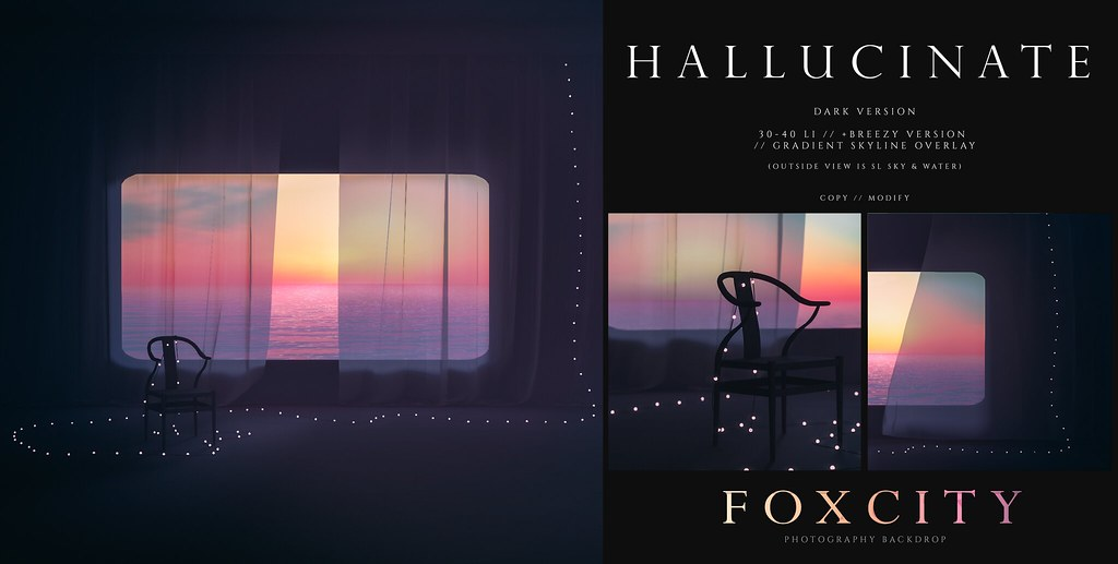FOXCITY. Photo Booth – Hallucinate (Dark)