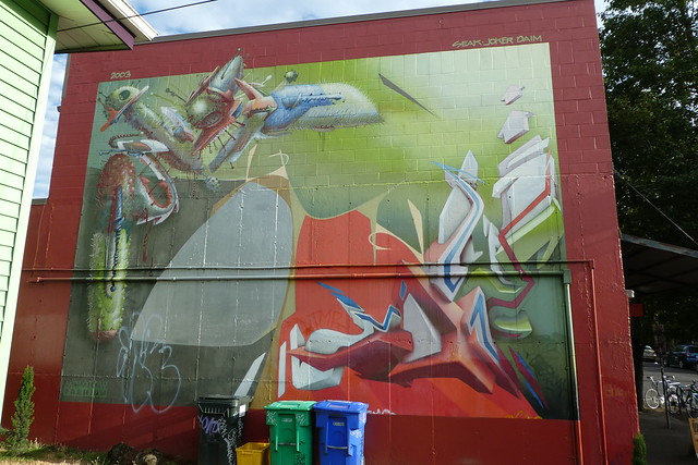 Seak + Joker + Daim graffiti, Portland