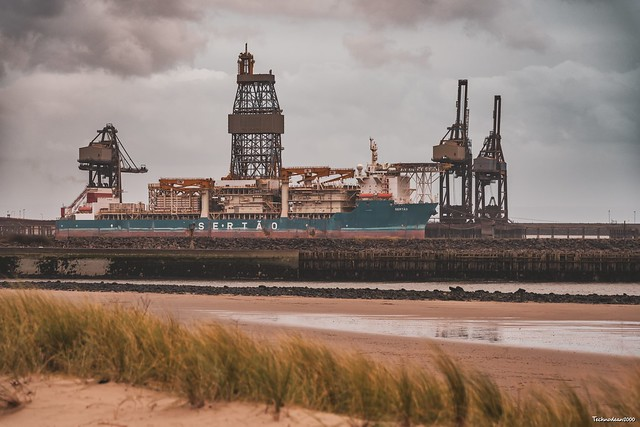 The Sertão ship is currently docked in Port Talbot after the company which owned it went bankrupt and was seized.