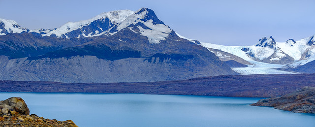 Close up of Upsala Glacier - DSCH2907 pano