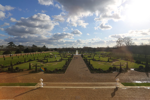 The Gardens at Hampton Court Palace, from the house