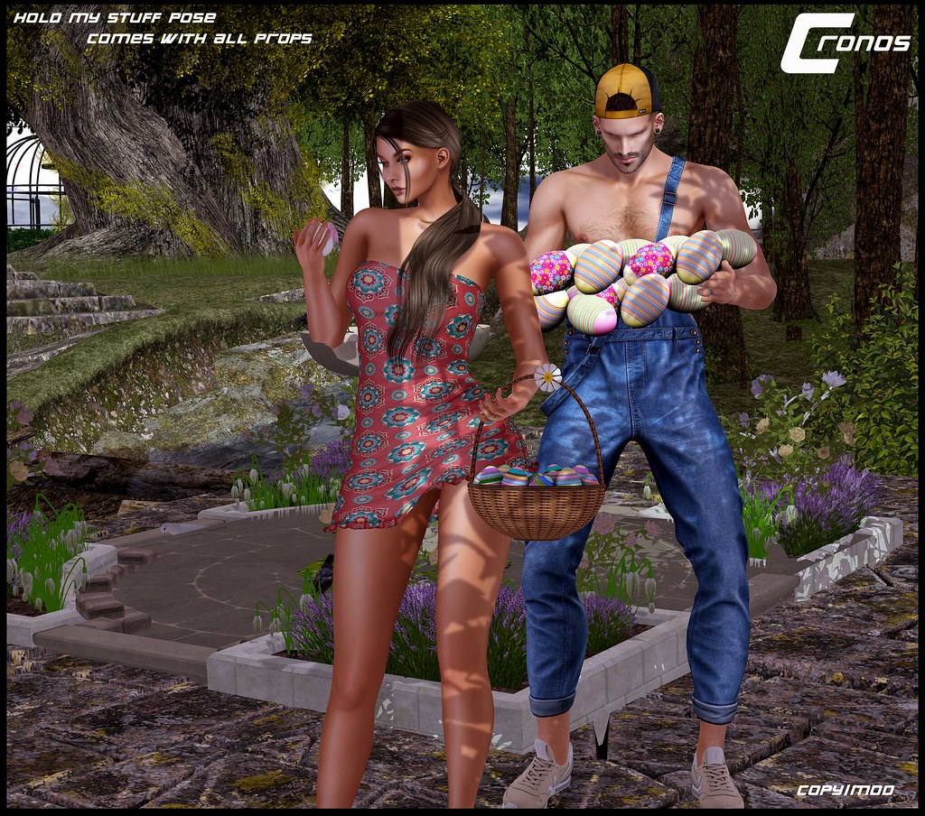 Hold My Stuff Pose – EXCLUSIVE for Easter Caspervend Hunt
